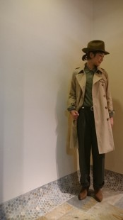 NEW!!-Trench Coat-