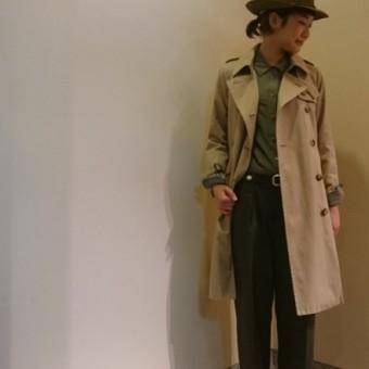 NEW!!-Trench Coat-