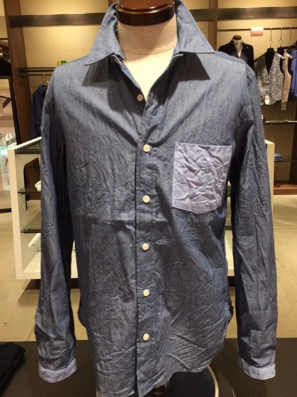 16SSメンズシャツ1