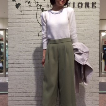 recommend!!! -ニット&パンプス-