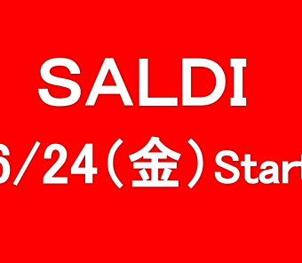 SALDIスタートです!!