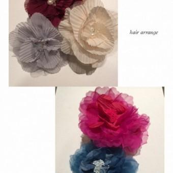 成人式♡髪飾り
