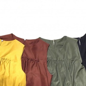 NEW COLOR BLOUSEで着まわし3days
