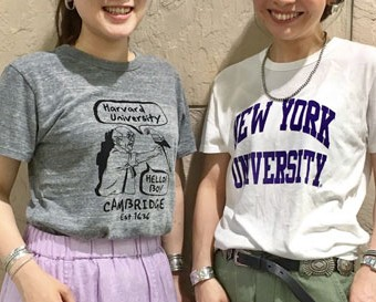 WE LOVE COLLEGE T-shirts!!!