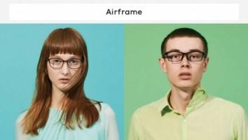 かけ心地を追求した軽量メガネ、「Airframe」の新作登場!