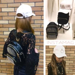 新作のbag & hatでお洒落に♡