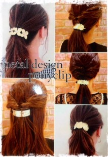 ★Metal design ponyclip★