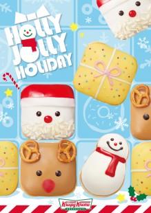 クリスマスモチーフのドーナツが5種登場!
