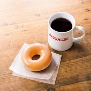 """ドーナツとコーヒーは""""最高のパートナー"""""""