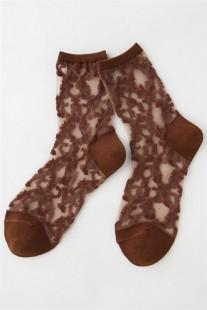 涼しく履ける秋色靴下