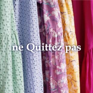 【ne Quittez pas】別注ワンピース