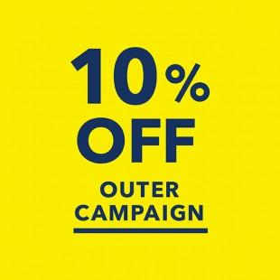 アウター10%OFFキャンペーン開催