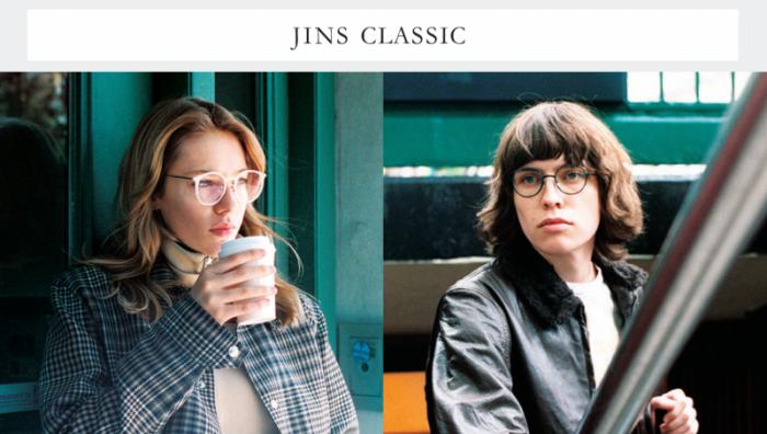 JINS CLASSIC WINTER画像