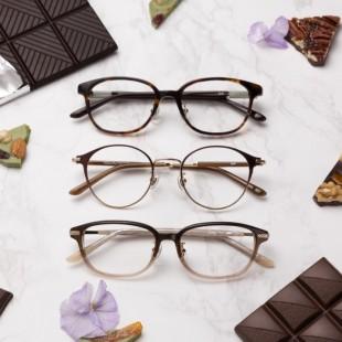 """バレンタインに""""チョコレート""""をテーマにしたメガネはいかがですか??"""