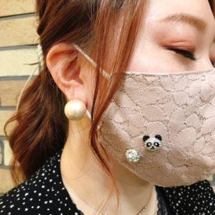 マスクに付けるアクセサリー♡