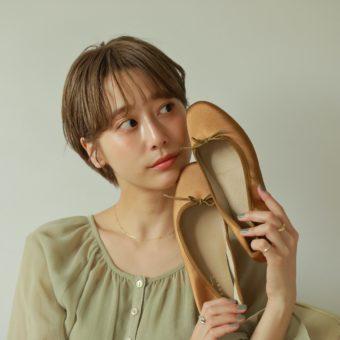 3月5日(金)『RANDA』から⼈気インフルエンサー⽯⽥⼀帆さんとのコラボシューズ発売!