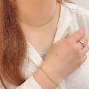 ショートチェーンネックレス♡
