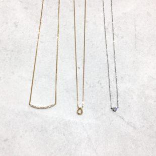 【K18 necklace】